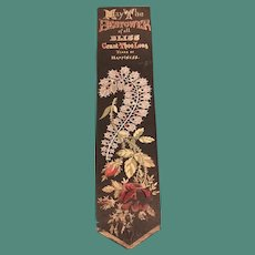 Stevengraph Bookmark - May the Bestower of all Bliss. . .