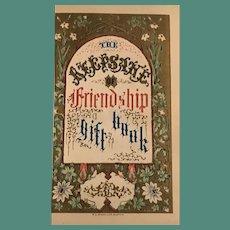 The 1853 Keepsake of Friendship Gift Book
