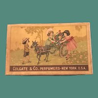 1919 Colgate's Young People's Perfumes Box with One Bottle - Fun for Doll Display
