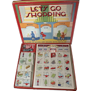 Let's Go Shopping - A 1930's Matching and Shopping Game
