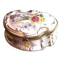 Old Paris Porcelain Candy or Trinket Box