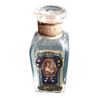 """""""White Rose of Ceylon"""" - A Small Perfume Bottle for Doll Display"""
