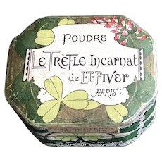 L.T. Piver French Powder Box - Poudre Le Trefle Incarnat