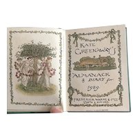 Kate Greenaway's Almanack & Diary for 1929 for Doll Display