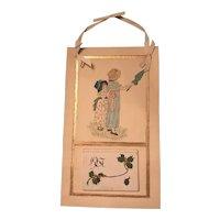 Hand Drawn Kate Greenaway Style 1907 Calendar