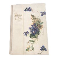 Violets to Greet You—An Edwardian Gift Book