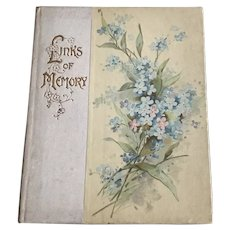 Links of Memory - An Ernest Nister Edwardian Gift Book