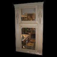 French 'Trumeau'  Mirror