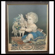 French Decoupage Picture