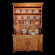 Small Irish pine Kitchen Dresser