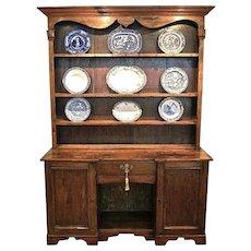 Traditional English Victorian Kitchen Dresser