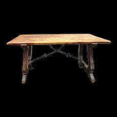 Spanish Refectory Table  c.1890