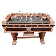 Vintage Soccer Game Table from France