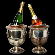 Pair of 'Classy' Mid-Century Champagne Ice Buckets