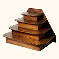 4 Tier Display Stand from period French Pharmacy.