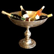 Vintage Champagne Ice Bowl from France.
