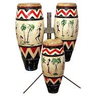 Vintage 'Riviera' Bongo Drums
