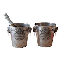 Pair of Highly Decorated Champagne Ice Buckets.