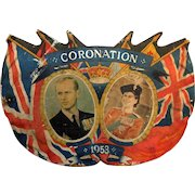 Original British Coronation Sign from 1953