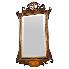 Antique 'Chippendale' style Mirror from England