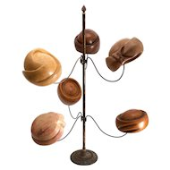 Vintage Hat Display Stand