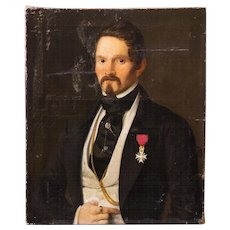 Oil Painting of a French Aristocrat