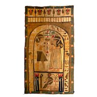Egyptian 'Grand Tour' Patchwork Wallhanging