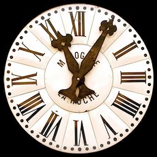 Tower Clock Face from France