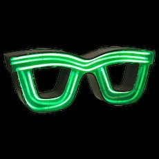 Mid-Century Neon Optician's Sign from Barcelona
