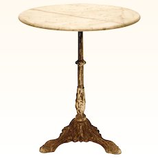 Original French Café Table