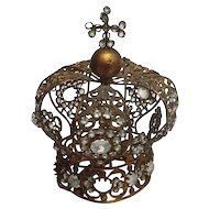 Jewelled Crown from a Devotional Figure