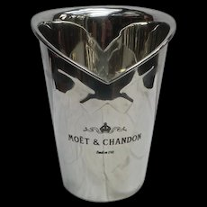 Vintage Pewter Champagne Ice Bucket 'Moet & Chandon'
