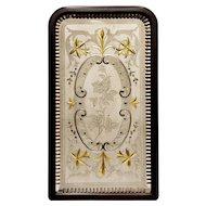 Rare Decorative Victorian Pub Mirror from England.