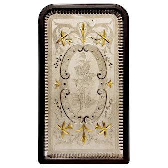 Rare Decorative Victorian Pub Mirror from England.