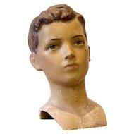 Boy Mannequin Head  by Siegel of Paris