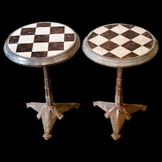 Superb Pair of Art-Deco Pavement Café Tables from France