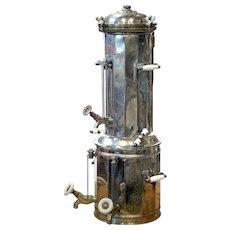 Vintage Coffee Machine fom 1920's French Brasserie.