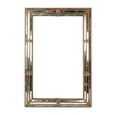 Highly Decorative 19thC. Mirrored Frame from Italy