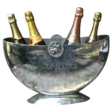 Superb 'Taittinger' 4 Bottle Champagne Bucket