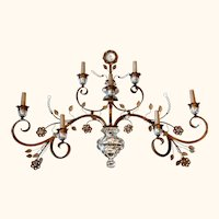Magnificent Mid-Century Wall Sconce from France.