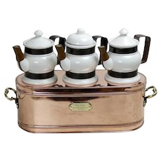 19thC. Hot Chocolate Dispenser from a Café in Belgium