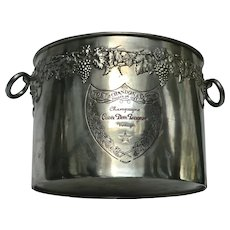 Superb Moet Chandon 'Dom Perignon'  4 Bottle Champagne Ice Bucket with Double Sided Engravings & Decorations.