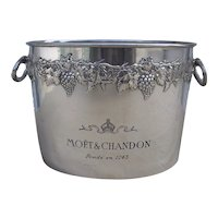 Magnificent Moet &  Chandon 4 Bottle Champagne Ice Bucket