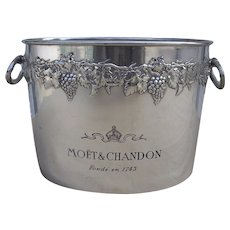 Magnificent Moet &  Chandon 4 Bottle Champagne Ice Bucket
