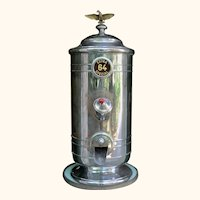 Mid-Century Coffee Shop Bean Dispenser from Belgium.