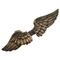 Magnificent Carved Wings of an 18th Century Angel from Spain.