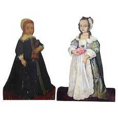 Pair of 19th Century 'Silent Companions'  from England