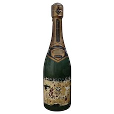 5 ft.high Metal Dummy Champagne Bottle  from France