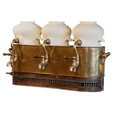 Rare and Unusual  19th Century Hot Drinks Dispenser from France
