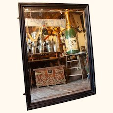 Pub Mirror from the West of England with Extraodinary Bevelling